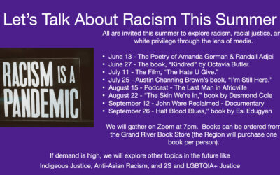 Summer Series – Let's Talk about Racism