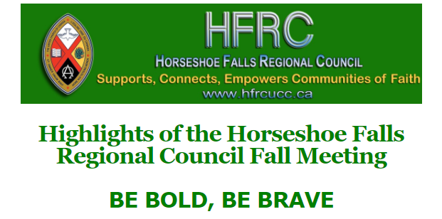 Highlights from the Horseshoe Falls Regional Council Meeting, Fall 2021